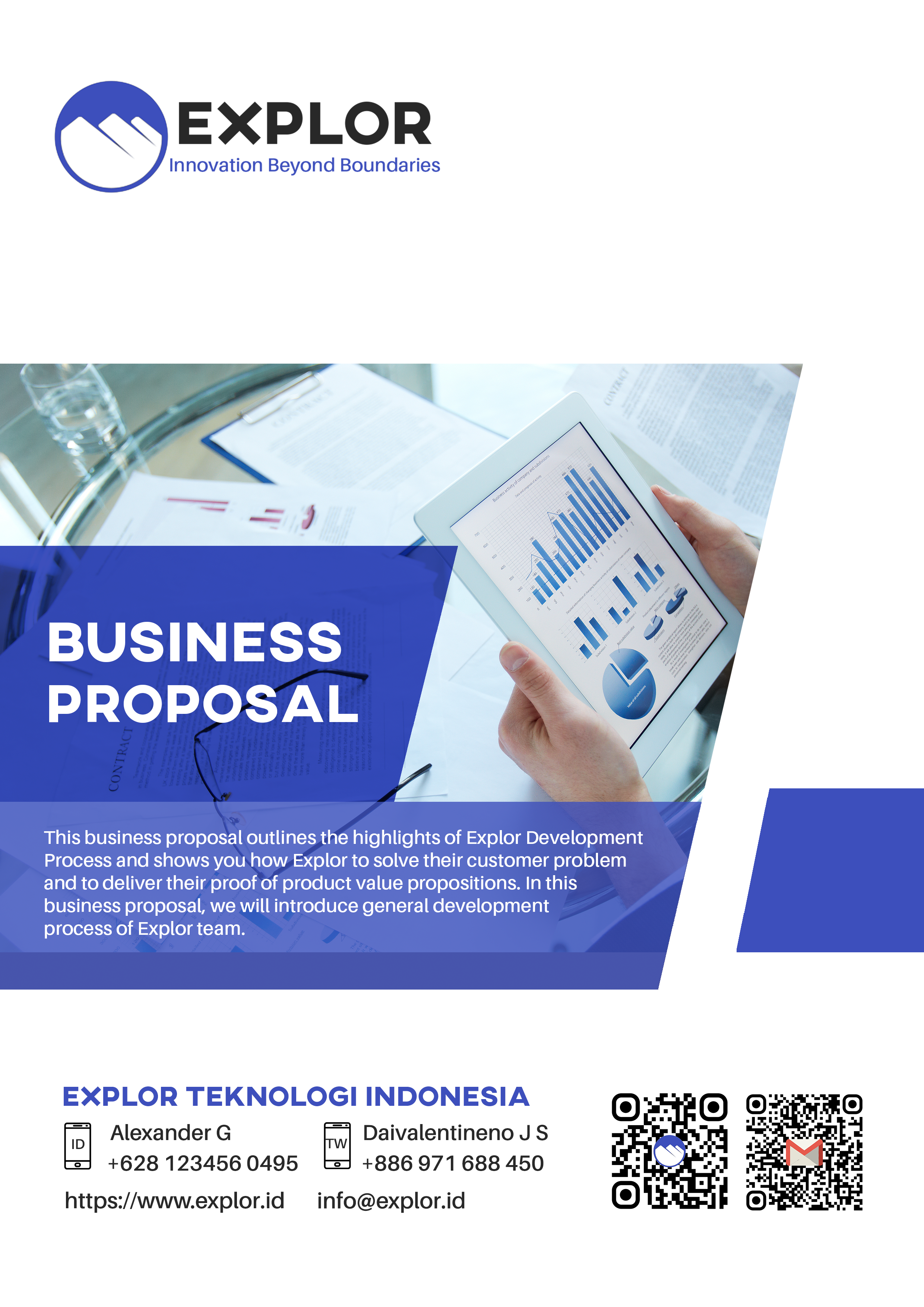 Explor Business Proposal